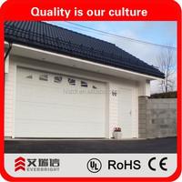 High qualified garage door with pedestrian door and garage side door