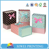 New designed customized storage & gift foldable artpaper bag fo packing