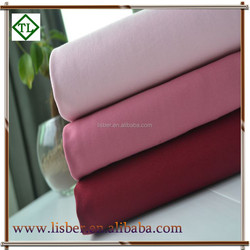 new develop elastic 100% egyptian cotton fabric twill