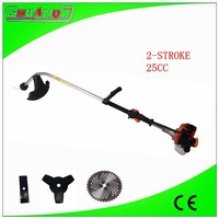 2-stroke 25cc grass cutter machine petrol grass trimmer for agriculture