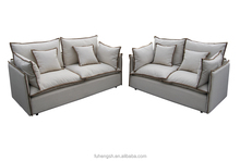 Living room sofa/Popular sofa with piping