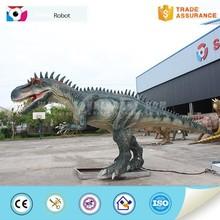 handmade silicon rubber 7m animatronic dinosaur