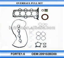 Cylinder head top engine repair kit for FORTE1.6 G4FC engine