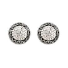 Hot sale silver fashion crystal earring stud earrings for women 2015