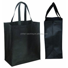 BAGS FOR LESSTM NON WOVEN JUMBO GROCERY TOTE BLACK NEW