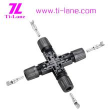 T4-Cross Connector x connector waterproof solar cooler box solar tracker price