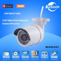 New Tech HD 1920*1080P Wholesale CCTV Bullet IP66 Camera RoHS Camera Made In China