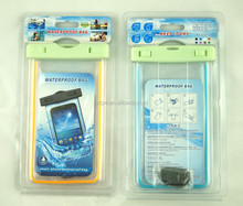 Snorkeling Use PVC Waterproof Bag for Universal Mobile Phone
