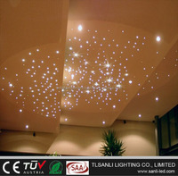 5W LED white twinkle star ceiling fiber optic light