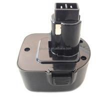high quality dewalt DW9072 cordless power tool nimh replacement battery 12v 3.0ah