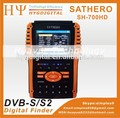 Sathero sh-700hd dvb-s/s2 digital satélite finder meter com 3.5 polegadas display suporte usb2.0 satlink ws-6906