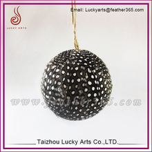 Wholesale Christmas Tree Hanging Natural Feather Ball