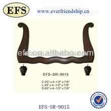 Black solid wood furniture frames, sofa frames(EFS-SR-9015)