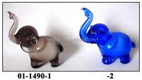 (01-1490)small glass animals