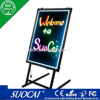 advertising products neon led message board with low price