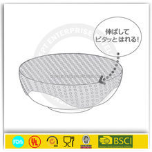 Set Of 5 Size FDA&LFGB Approval Transparent Silicone Food Vacuum Preservation Covers Wih Mold Factory