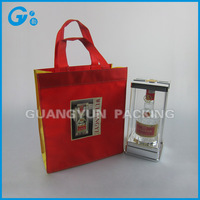 Wine tote bag wholesale cheap price and eco-friendly wine bottle bag
