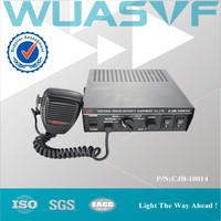 Police car, ambulance 100W 8 tones electronic siren