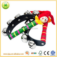 Hot Funny Cheerful Clown Hand Bell Classic Kids Toys