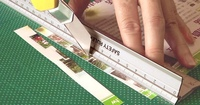 new invention office supply stationery products safety steel ruler
