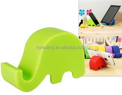 Elephant mobile phone holder and cute pad stand