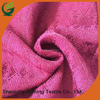 fashion custom 50%rayon 50%viscose jacquard fancy dress fabric