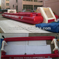 high quality inflatable football ground