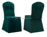 fashion green spandex chair cover for wedding chairs