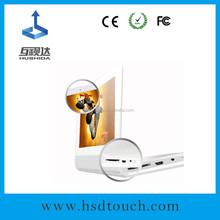 Hot selling Hushida 8 inch wall mount digital photo frame