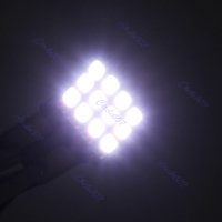 2шт яркий t10 3020 12 smd led автомобиля авто клин Поверните сигнал света лампа белая