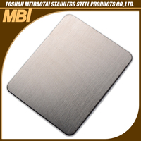 1219mm Hairline stainless steel interior decorative wall covering panels