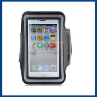 Water Resistant Material Design Protective Armband Sport Case for iPhone 5S/ 5 (Black)