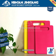 FDA approved colorful kitchen cutting board in china