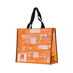 good promotional foldable non woven grocery bag