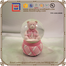 2015 Chinese Factory Custom Made Glass Water Globe Crafts