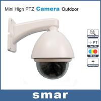 "CCTV Hottest 10X Optical Zoom IP66 1/3""Super HAD II Sony CCD Effio-e 700TVL Outdoor Mini High PTZ Camera Via DHL Free Shipping"
