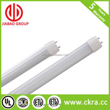 18W SMD2835 high lumens 2ft 4ft 8ft LED T8 tube no flicking CE ETL CETL and DLC listed