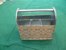 Metal Utensil Caddy Elegant NEW DESIGN Metal Organizer Box/Rectangle Metal Ice Bucket/Sundries Metal Collector Case