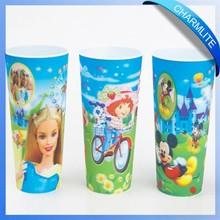 custom 3D cup personalized 3d plastic cup 3d lenticular cup (3D001)