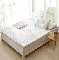 100% polyester memory foam mattress for folding sponge mattress LS-M-012 vacuum bag for foam mattress