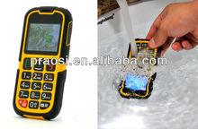 Rugged phone IP67 SOS button GSM elderly Cell phone Unlock waterproof