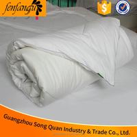 hotel white satin bed sheet patchwork quilt silk quilt
