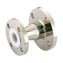 Stainless Steel and WCB PFA teflon Lining Chemical Fluid Anti Corrosion Concentric Reducer fitting Pipe