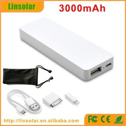 smart super fast mobile phone charger with kinds of connectors and pouch