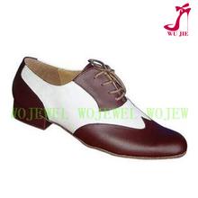 zapatos de baile latino de Rojo de los hombres