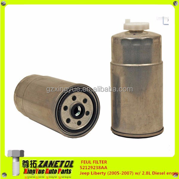 Fuel filter52129238aajeep liberty 2005 2007 w 2 8l for 2009 jeep liberty cabin air filter location