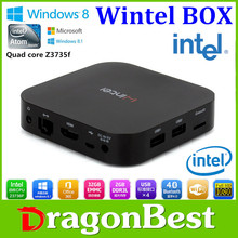Dragonbest Internet W8 Intel Baytrail-T CR(Quad-core ) 1.33GHz Smart TV Box Internet TV Box Android