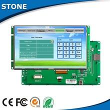 "Dot matrix 7"" tft lcd smart pcb configurable screen touch boiler display"