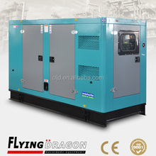 Ultra soundproof canopy type 80kw 100kva silent power generator with Cummins 5.9 Series diesel engine
