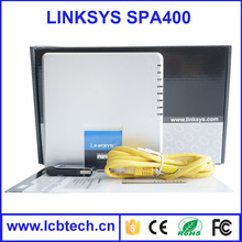 Unlocked Linksys ATA SPA400 IP PBX Internet 4 Ports FXO Voicemail VoIP Phone Adapter gateway